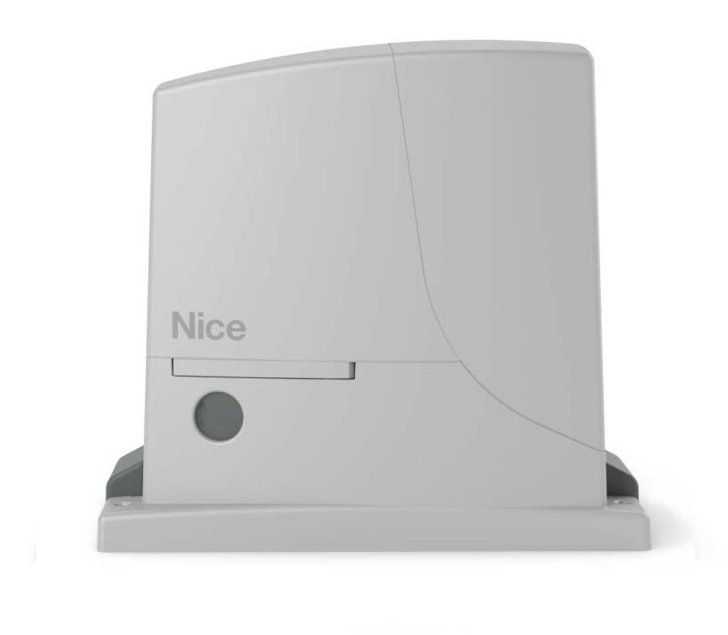 Комплект автоматики для откатных ворот ROX600 KLT NICE