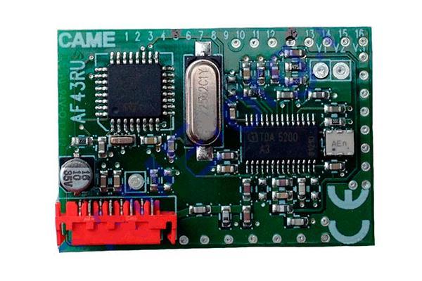 Радиоприемник встраиваемый 001AF43RU Came