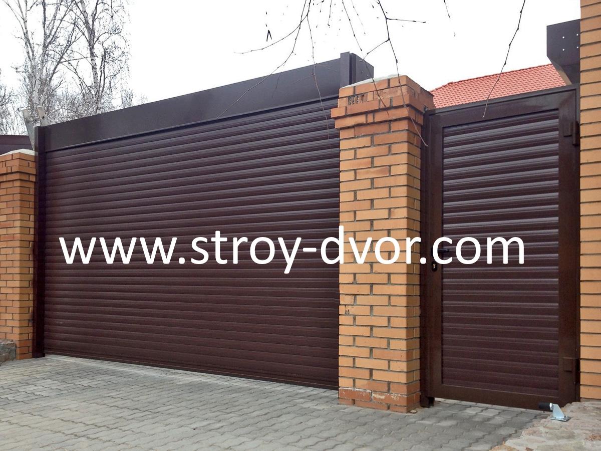 установка гаражных ворот в Егорьевске